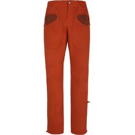 E9 Rondo Slim Miehet Pitkät housut , oranssi